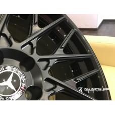 Кованый диск FC 4GED FC312 20x10/5x112 ET55 DIA66.6 gloss black rimmatte black center