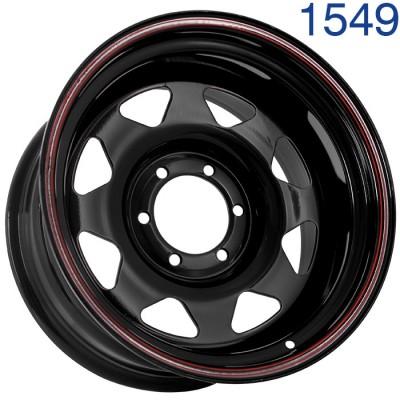 Стальной диск Grizzly SW01 17x9/6x139.7 ET-25 DIA110.1  арт. 1549