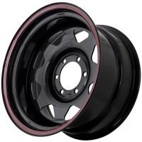 Стальной диск Grizzly XQR00401 17x9/6x139.7 ET-25 DIA110.1