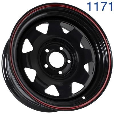 Стальной диск Grizzly SW01 16x7/5x114.3 ET0 DIA73.1  арт. 1171