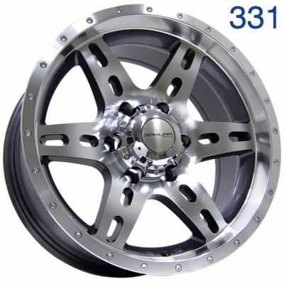 Литой диск Sakura Wheels DR2757 17x8/6x139.7 ET0 DIA110.5  арт. 331