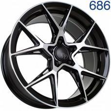 Flow Forming диск Sakura Wheels YA5636 18x8.5/5x112 ET35 DIA66.6