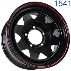 Стальной диск Grizzly XQR00401 16x7/5x139.7 ET-5 DIA108.5