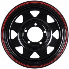Стальной диск Grizzly XQR00401 16x7/5x139.7 ET-25 DIA108.5