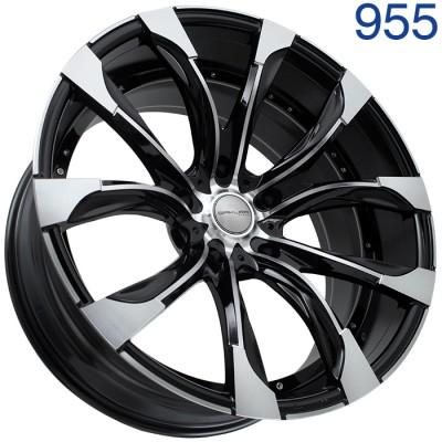 Литой диск Sakura Wheels R9546 22x10/5x150 ET0 DIA110.1 B-P арт. 955