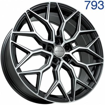 Литой диск Sakura Wheels 9547 20x8/5x114.3 ET45 DIA73.1 BF-P арт. 793