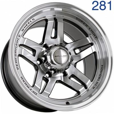 Литой диск Sakura Wheels R3917 16x9/6x139.7 ET-30 DIA110.1  арт. 281