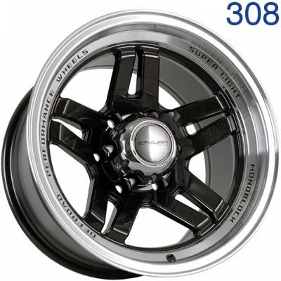 Литой диск Sakura Wheels R3917 16x9/6x139.7 ET-30 DIA110.1  арт. 308