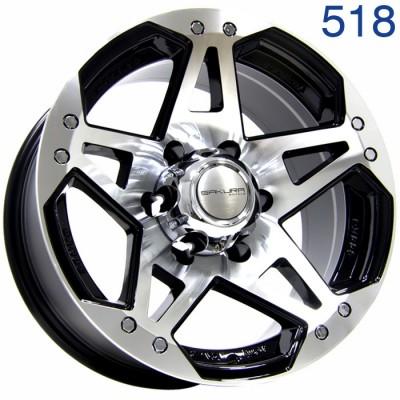 Литой диск Sakura Wheels R5313 16x8/6x139.7 ET-20 DIA110.5  арт. 518