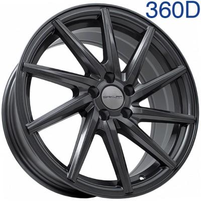Литой диск Sakura Wheels 9650D 17x7.5/5x100 ET40 DIA73.1 MK арт. 360D