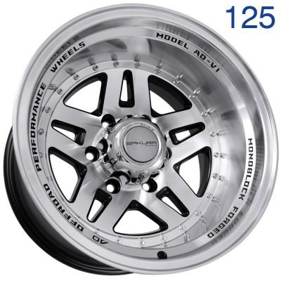 Литой диск Sakura Wheels R3917 16x10/6x139.7 ET-44 DIA110.5  арт. 125