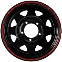 Стальной диск Grizzly SW01 16x7/5x139.7 ET15 DIA108.5