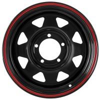 Стальной диск Grizzly XQR00401 16x8/5x139.7 ET-25 DIA108.5