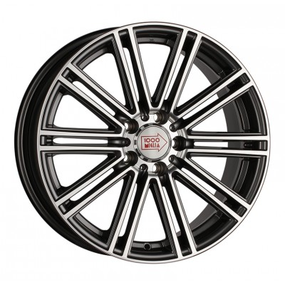 Литой диск 1000 MIGLIA MM1005 17x7.5/5x112 ET45 DIA66.6 Silver High Gloss арт. 1606488